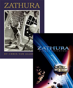 Zathura book and movie