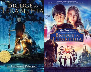 tween books and movies