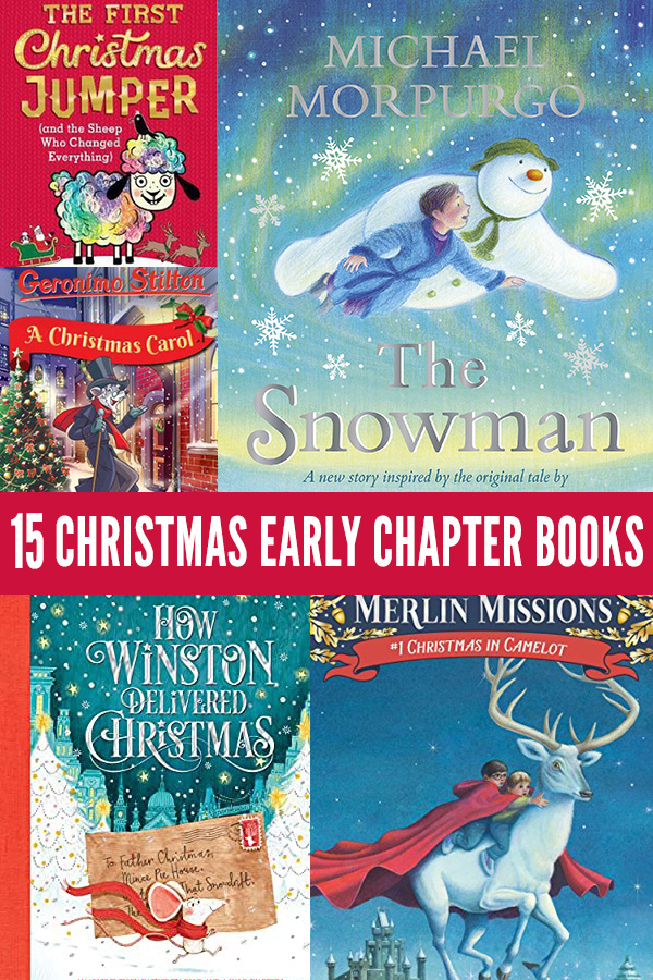 15-Christmas-Early-Chapter-Books