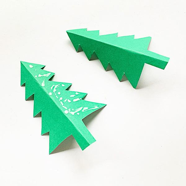3D Christmas Tree Paper Tutorial