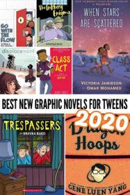 Best new graphic novels for tweens 2020