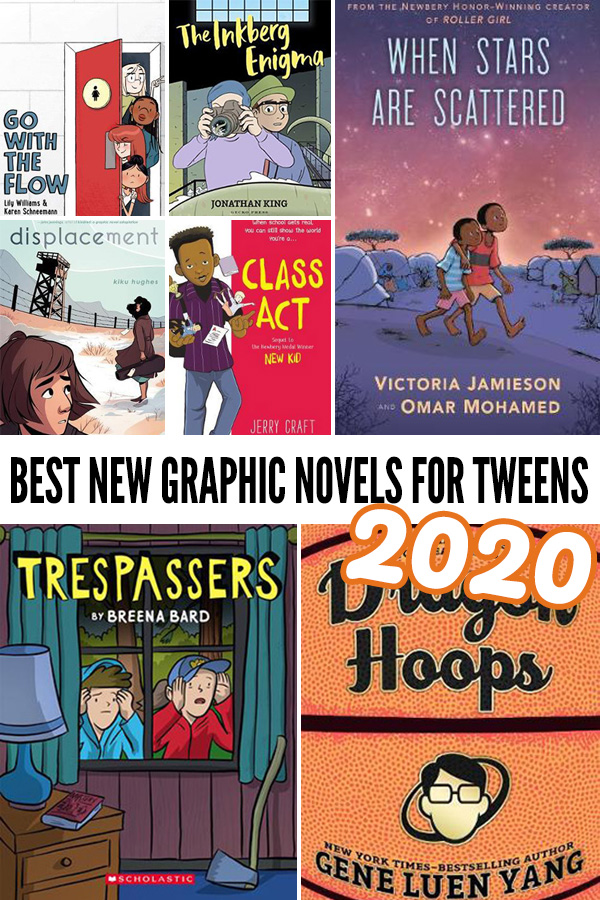 Best new graphic novels for tweens 2020