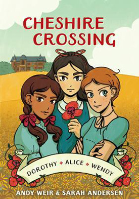 Cheshire Crossing graphic novel