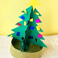 3D Christmas Tree Paper Craft