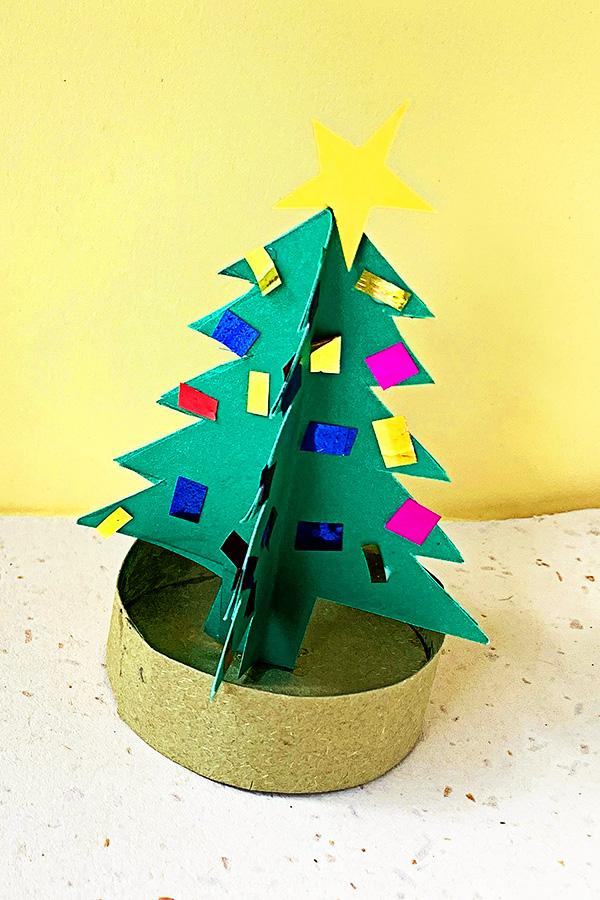 3D Christmas Tree Paper Craft