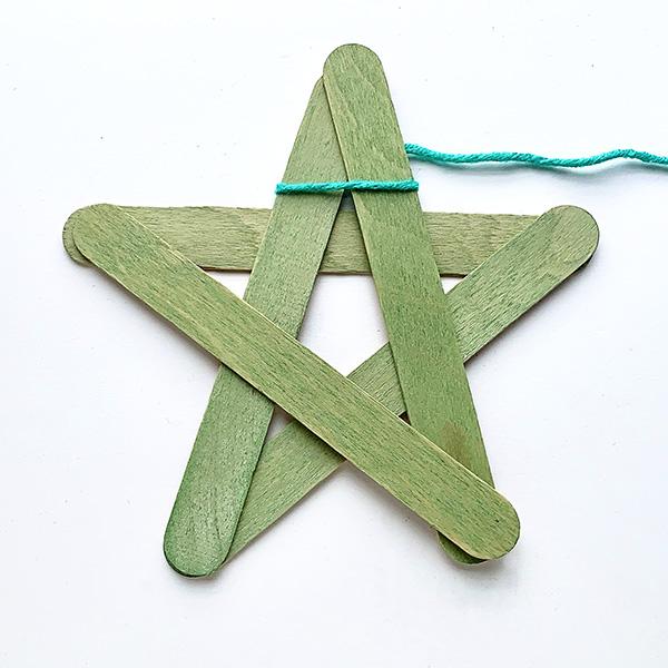 Simple star ornament tutorial