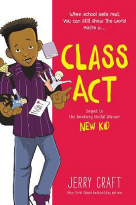 Class Act new graphic novels
