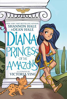 Diana Princess of the Amazons Graphic Novel for Tweens