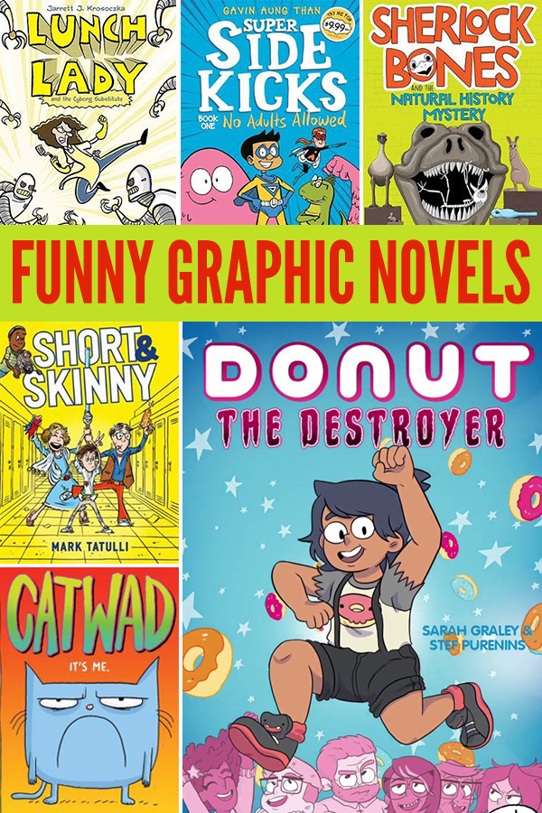 Funny Graphic Novels for Kids
