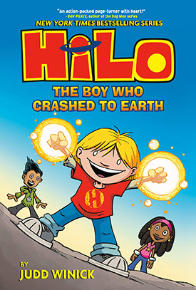 Hilo funny graphic novels