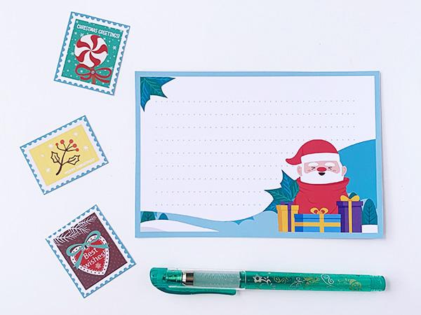 Letter to Santa postcards