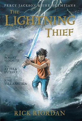 Percy Jackson graphic novel