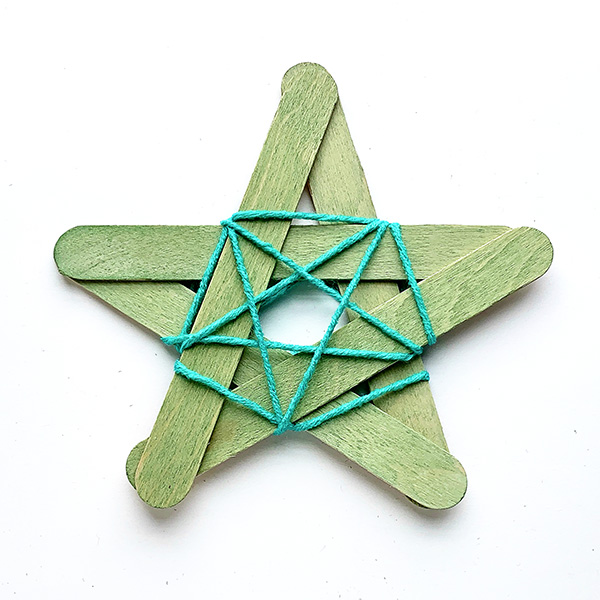 Simple star decoration tutorial