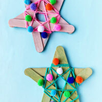 Simple star decoration for kids