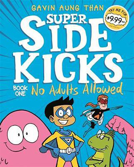 Super Sidekicks graphic novels