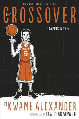 The Crossover graphic novels for kids