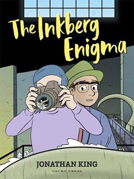 The Inkberg Enigma graphic novel for tweens