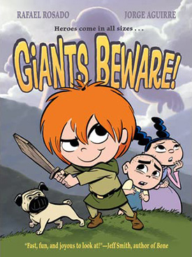Giants Beware graphic novel