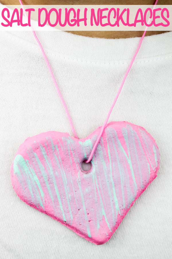 Salt dough necklaces: Gifts kids can make