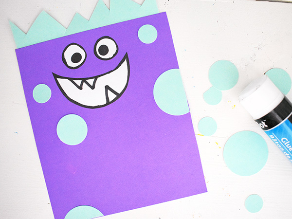 Love Monster Card Valentine