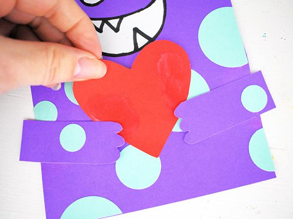 DIY Love Monster Card