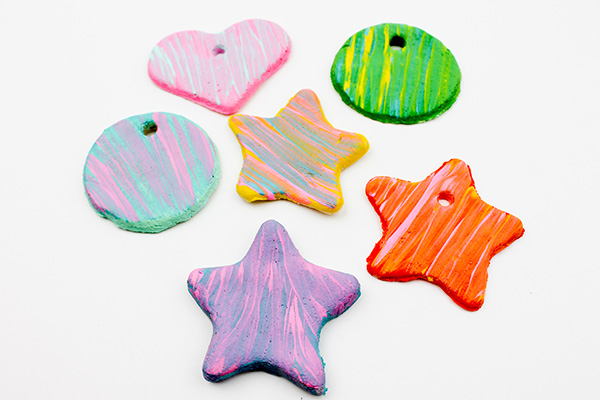 Salt dough ornaments tutorial