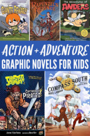 Adventure Graphic Novels for Kids
