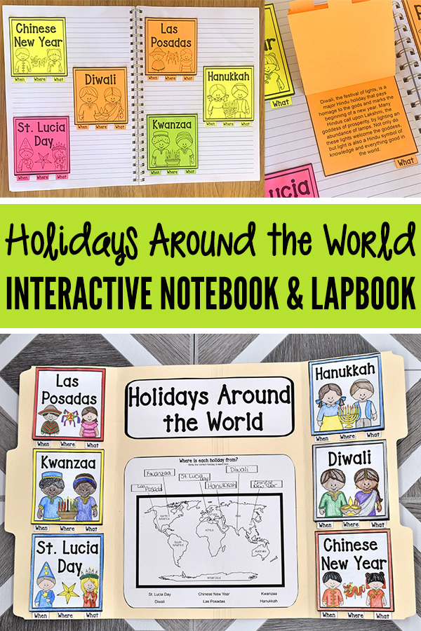 Holidays Around the World for Kids printable