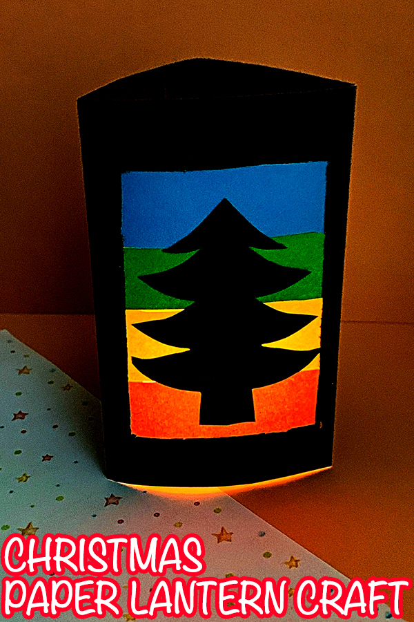 Christmas Paper Lantern Craft