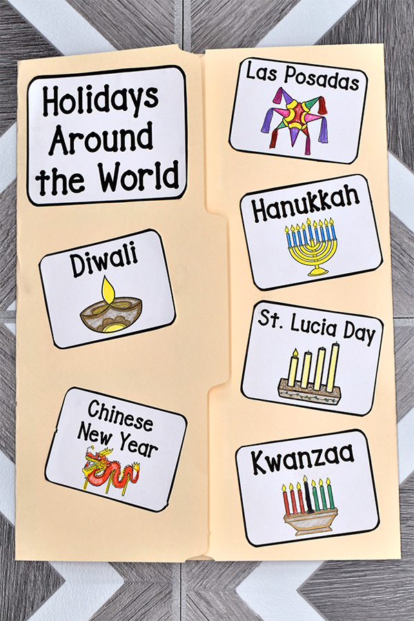Holidays Around the World for kids