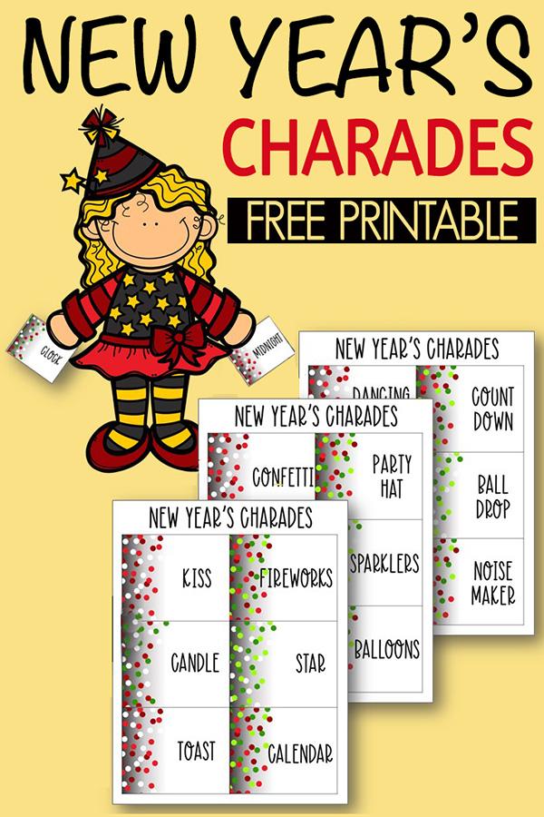 New Year's Charades