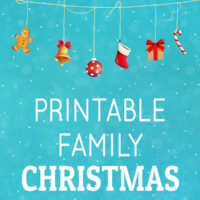 Printable Christmas Games for Families