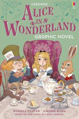 Alice in Wonderland graphic novel adaptation