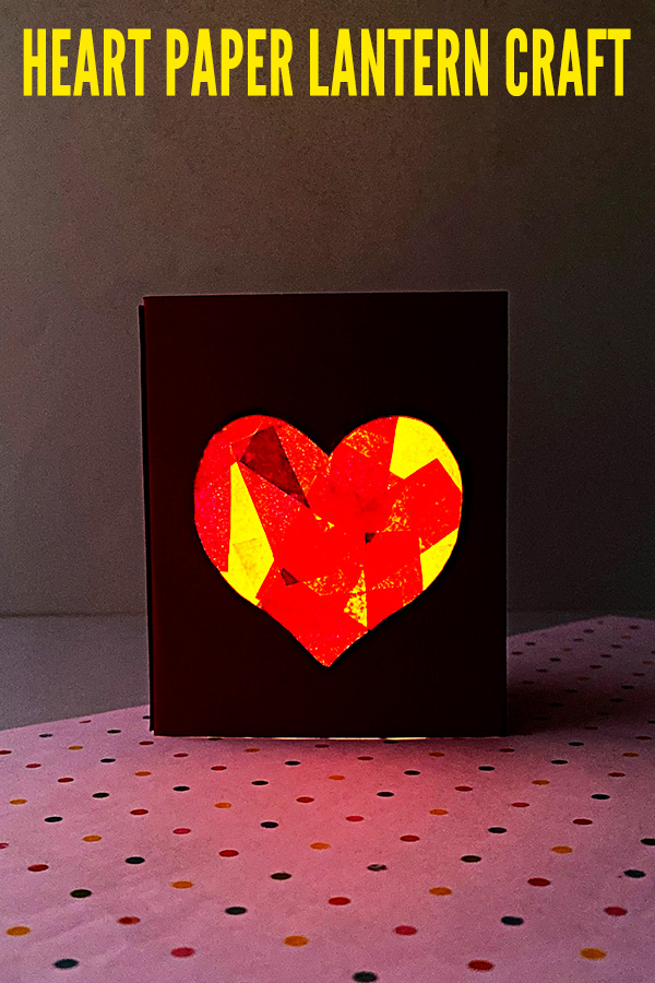 Heart lantern craft