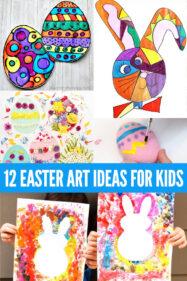12 Easter Art Ideas for Kids