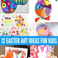 12 Easter Art Ideas for Kids