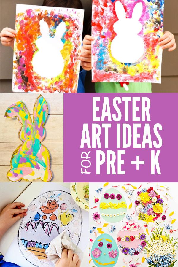 Easter Art Ideas for Preschool and Kindergarten