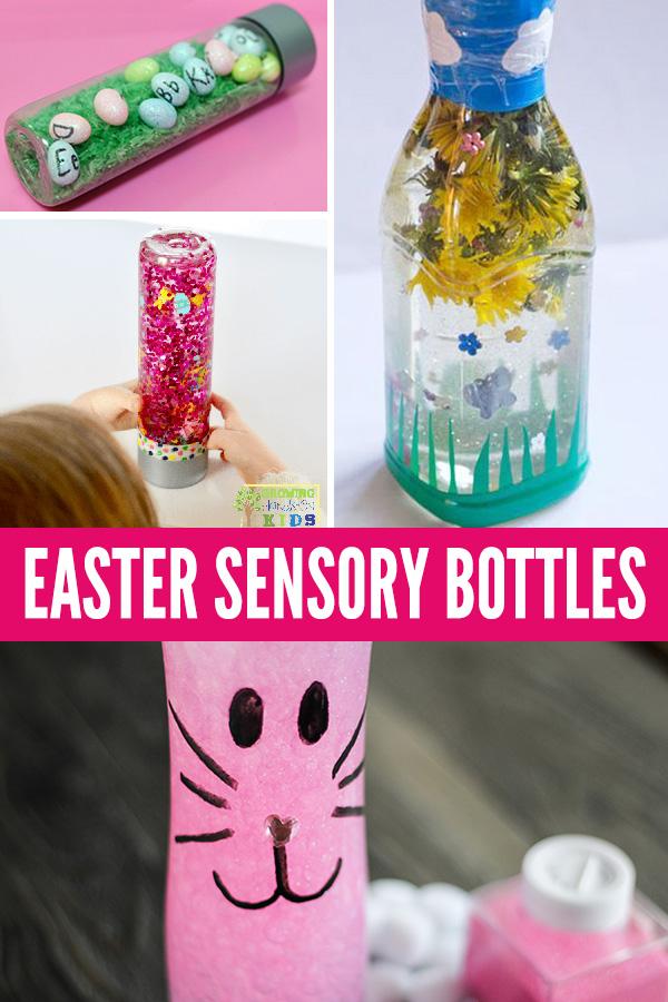 Easter sensory bottles