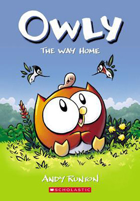Owly graphic novels for early readers