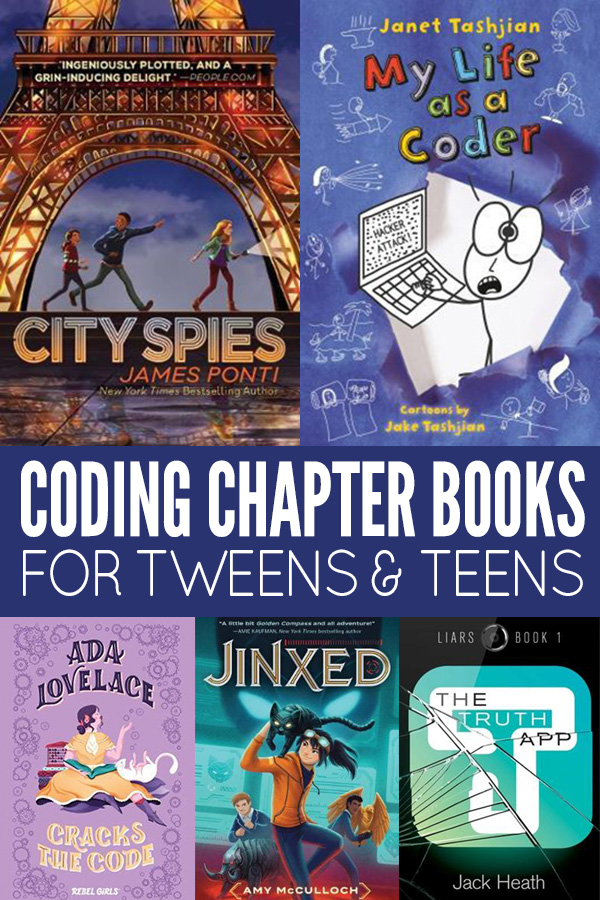 Coding Chapter Books for Tweens and Teens