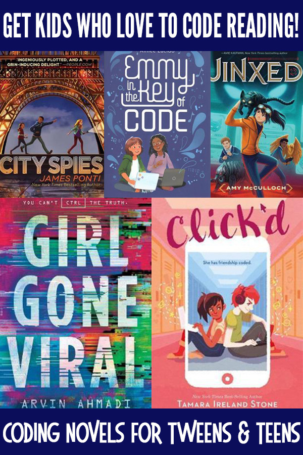 Coding Novels for Tweens and Teens