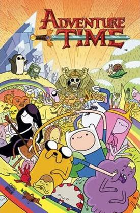 Adventure TIme comic book