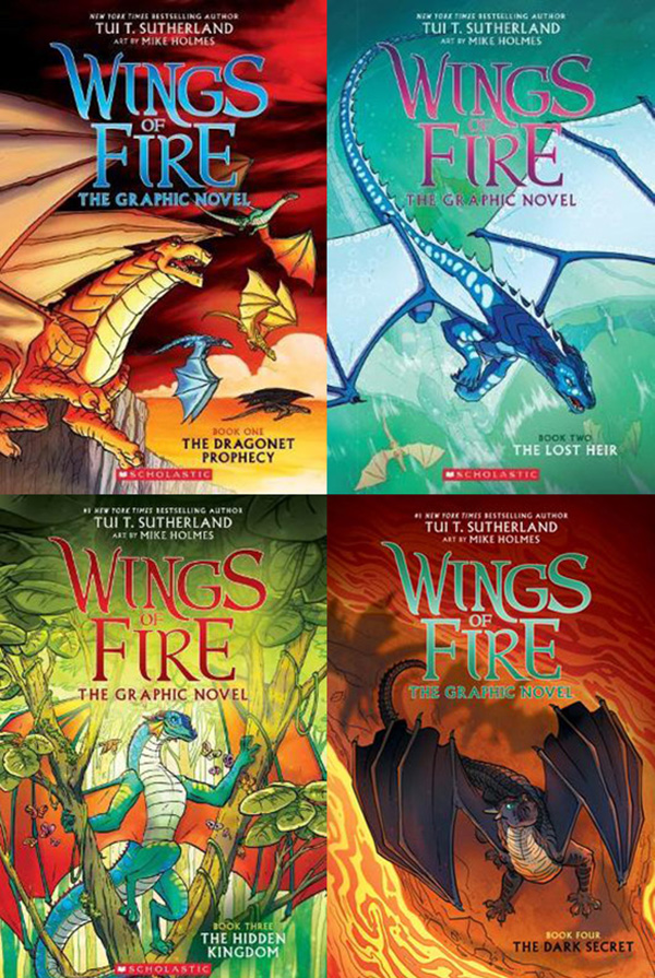 Graphic novels- Wings of Fire
