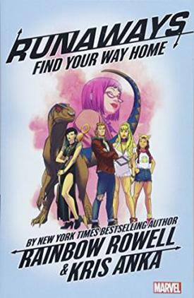 Runaways comic series by Rainbow Rowell