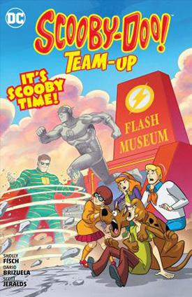 Scooby Doo Team Up comic