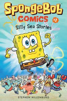 Spongebob comic books for kids