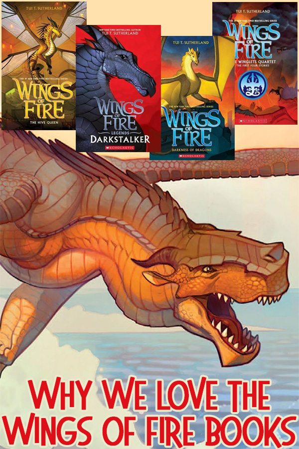 Wings of fire book series review