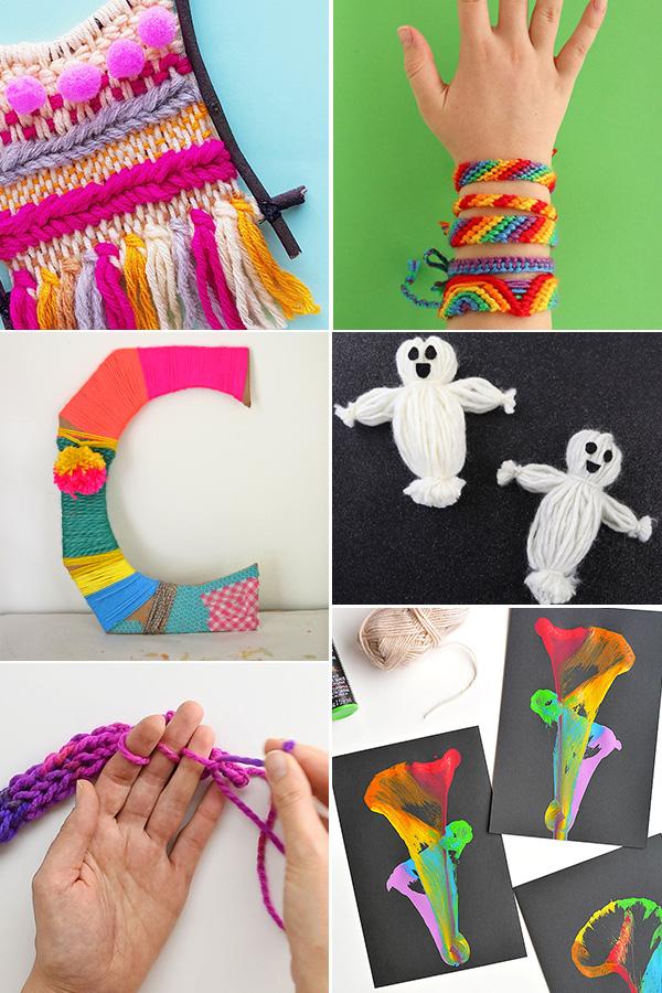 Fun yarn crafts for tweens
