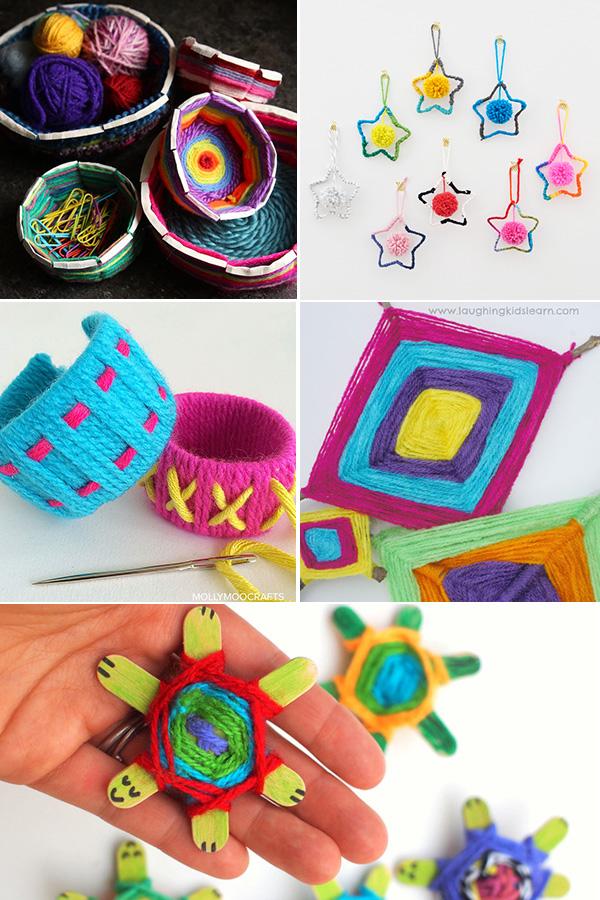 Tween yarn crafts