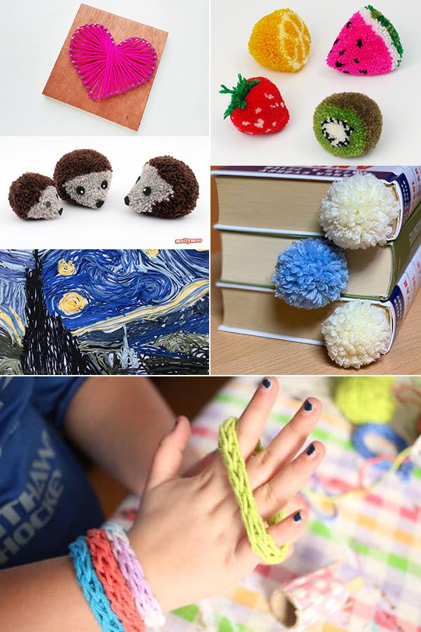 25+ wool crafts for tweens
